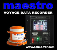 SELMA MAESTRO S-VDR/VDR Website - Ship Electric Marine Automation MAESTRO Simplified / Voyage Data Recorder Website