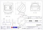 SELMA BNWAS - Optional Desk mounted bracket - Main Bridge Touch Screen Monitor Unit